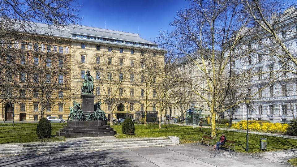 Beethoven Monument on Beethoven Platz