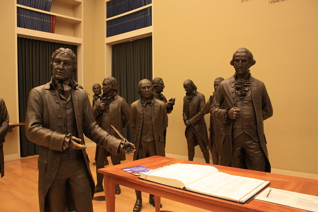 Signers' Hall at the National Constitution Center