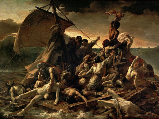 The Best Painting in the Louvre in Paris: Gericault's Raft of the Medusa