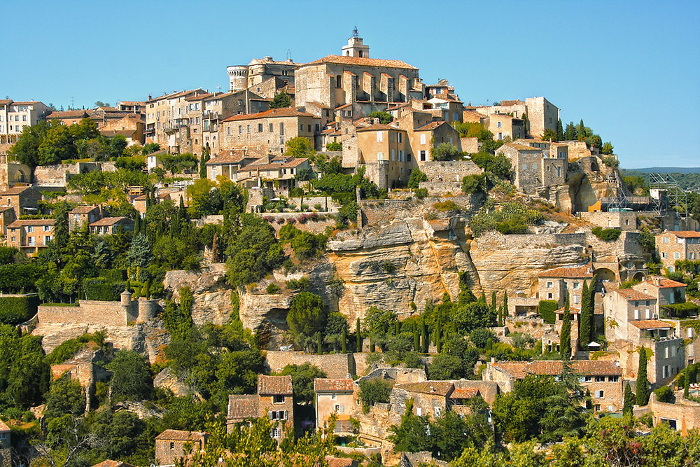 Gordes, the best situated town in the Luberon
