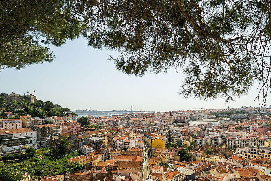 view from the Miradouro da Graça