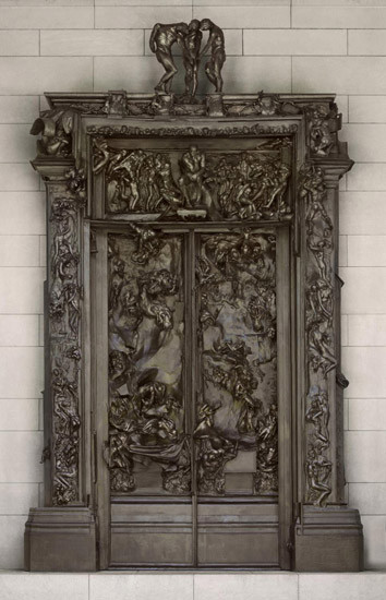 Rodin, Gates of Hell, 1880-1917