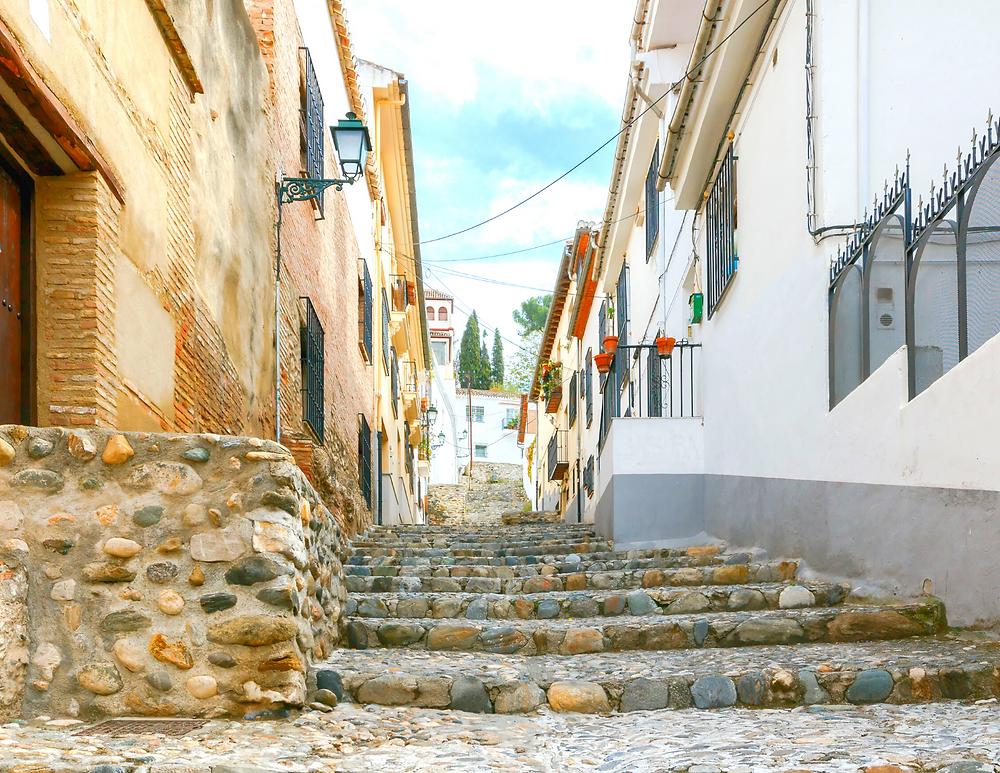the Albaicín Neighborhood of Granada