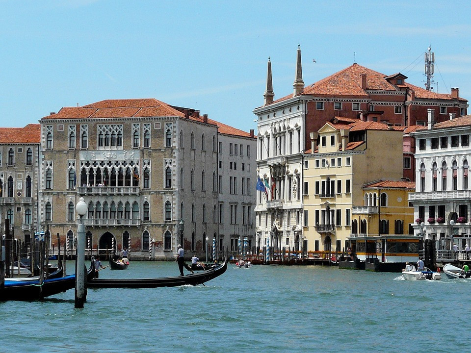 Ca' Foscari on the Grand Canal
