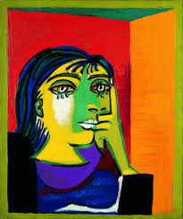 Portrait of Dora Maar, 1937, by Picasso