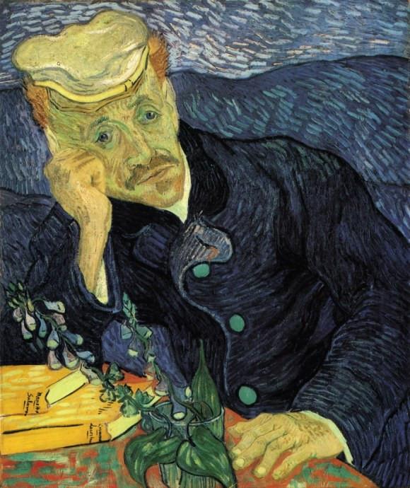 Vincent Van Gogh, Portrait of Dr Gachet, 1890 -- -- the painting sold for $82.5 million in 1990