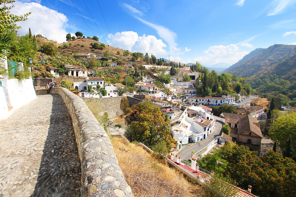 Sacromonte district of Granada