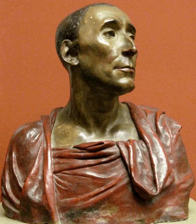 Donatello's terracotta Bust of Niccolo da Uzzano