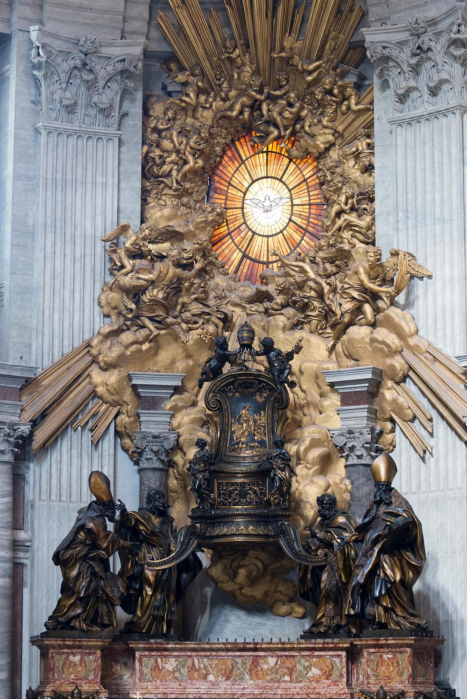 Bernini, Chair of St. Peter, 1653