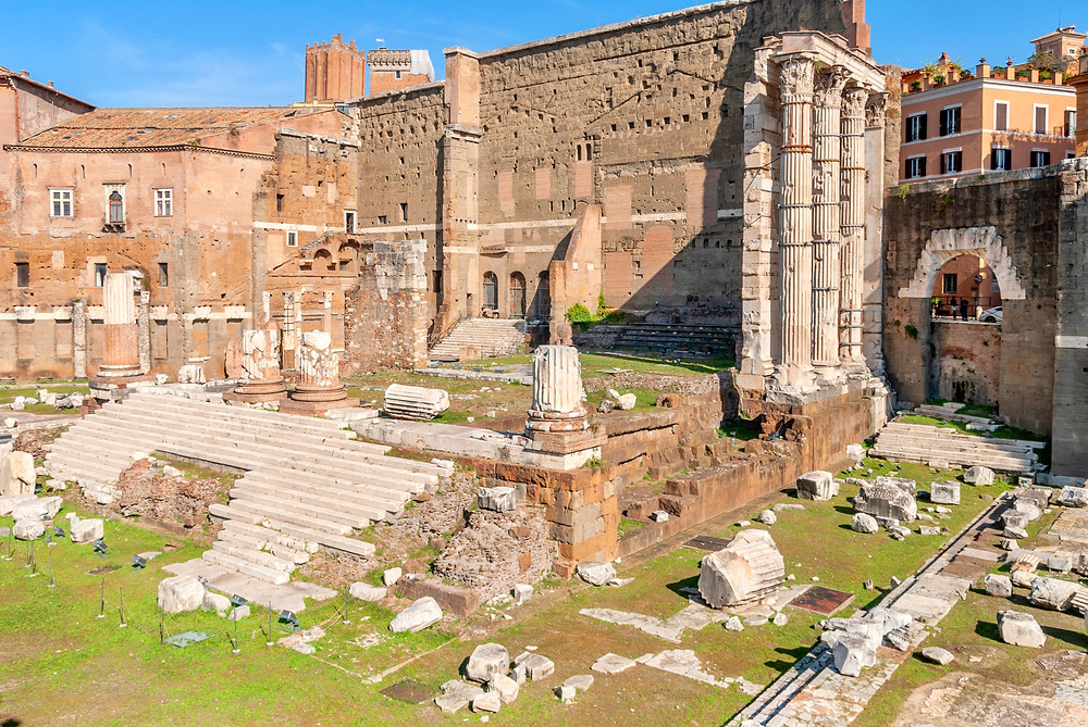 ruins of the Forum of Augustus
