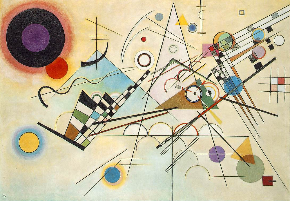 Wassily Kandinsky, Delicate Tension, 1923