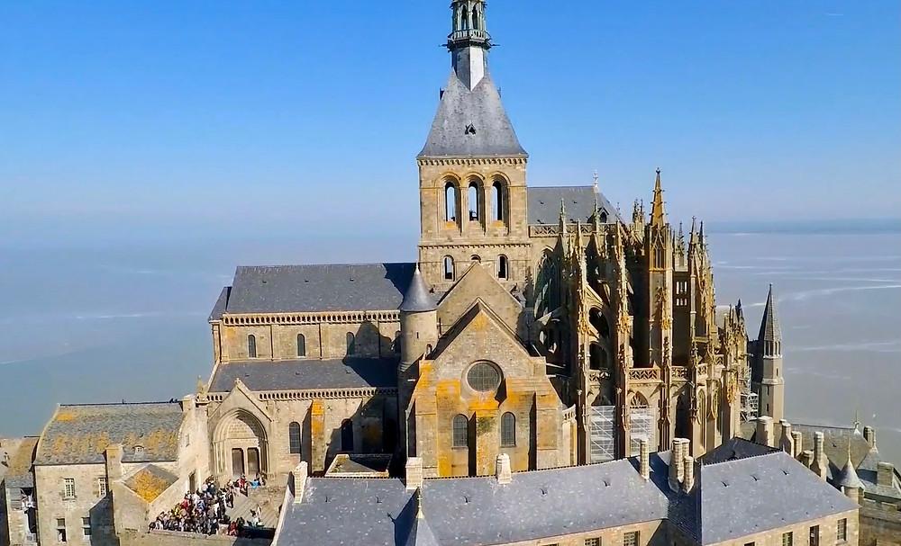 abbey church of Mont Saint-Michel