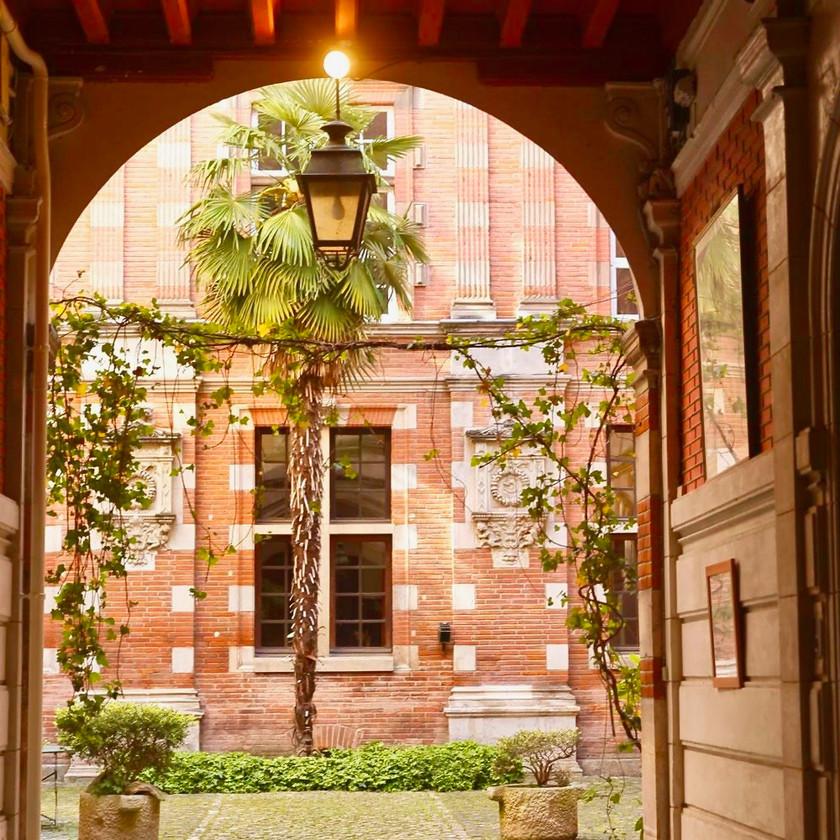 Hôtel d'Assézat, the Fondation Bemberg, in Toulouse France