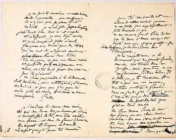 letter from Rodin to Claudel professing his desperate love