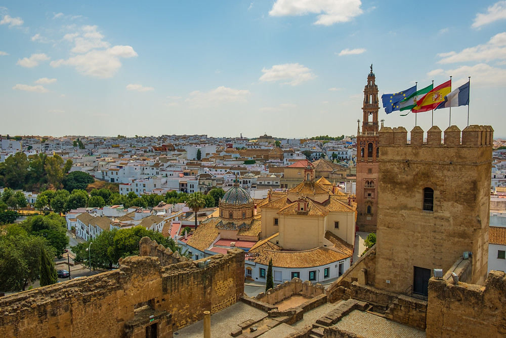 the white pueblo town of Carmona