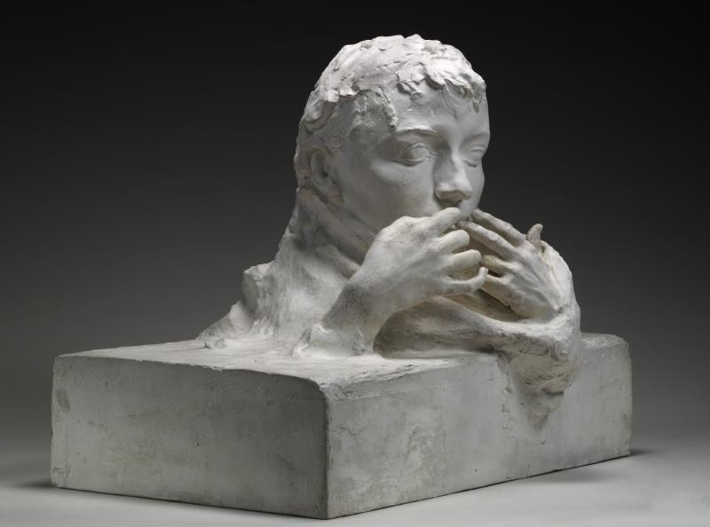 Auguste Rodin, Farewell, 1989 -- Rodin was devastated by Claudel leaving him