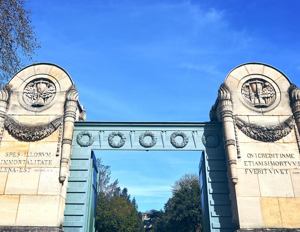 gates of Pere Lachaise