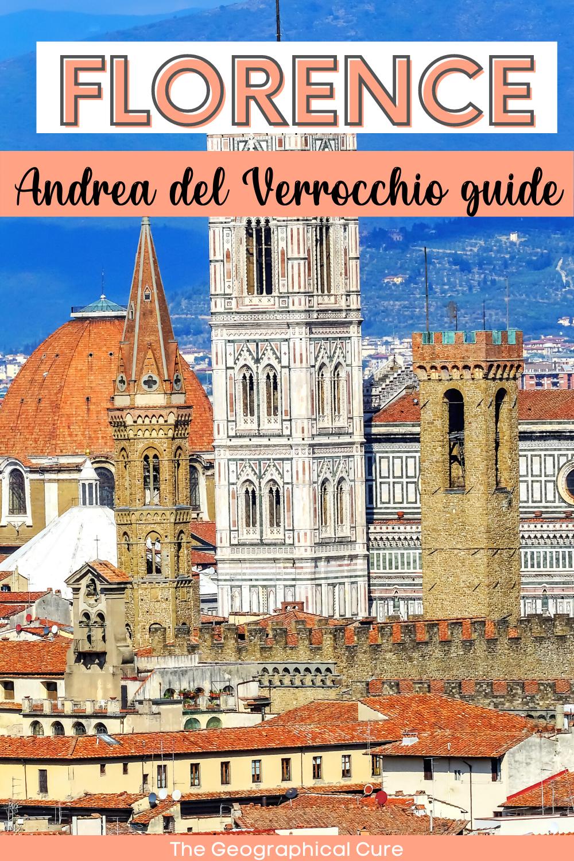 guide to Verrocchio's sculpture in Italy