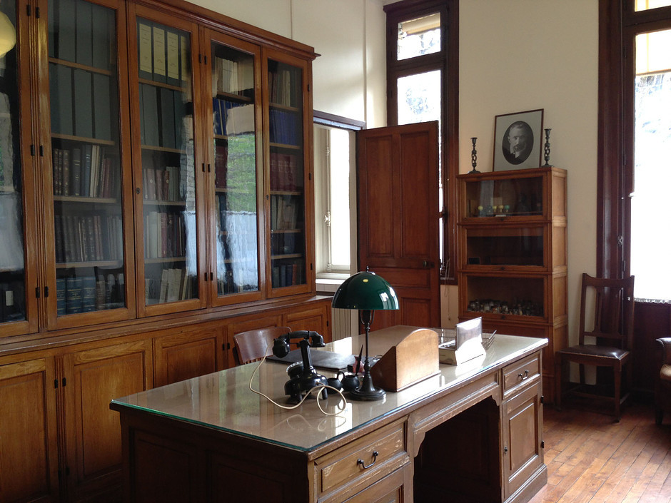 Marie Curie's office in the Curie Museum in Paris