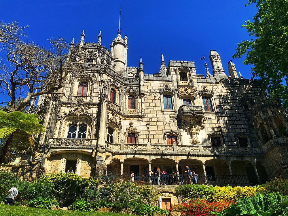 the facade of Quinta da Regaleira
