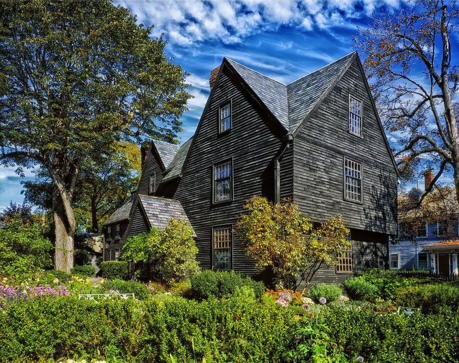 the historic House of the Seven Gables in Salem MA