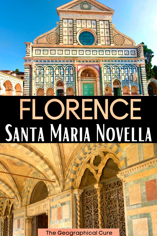 guide to the Basilica of Santa Maria Novella in Florence Italy