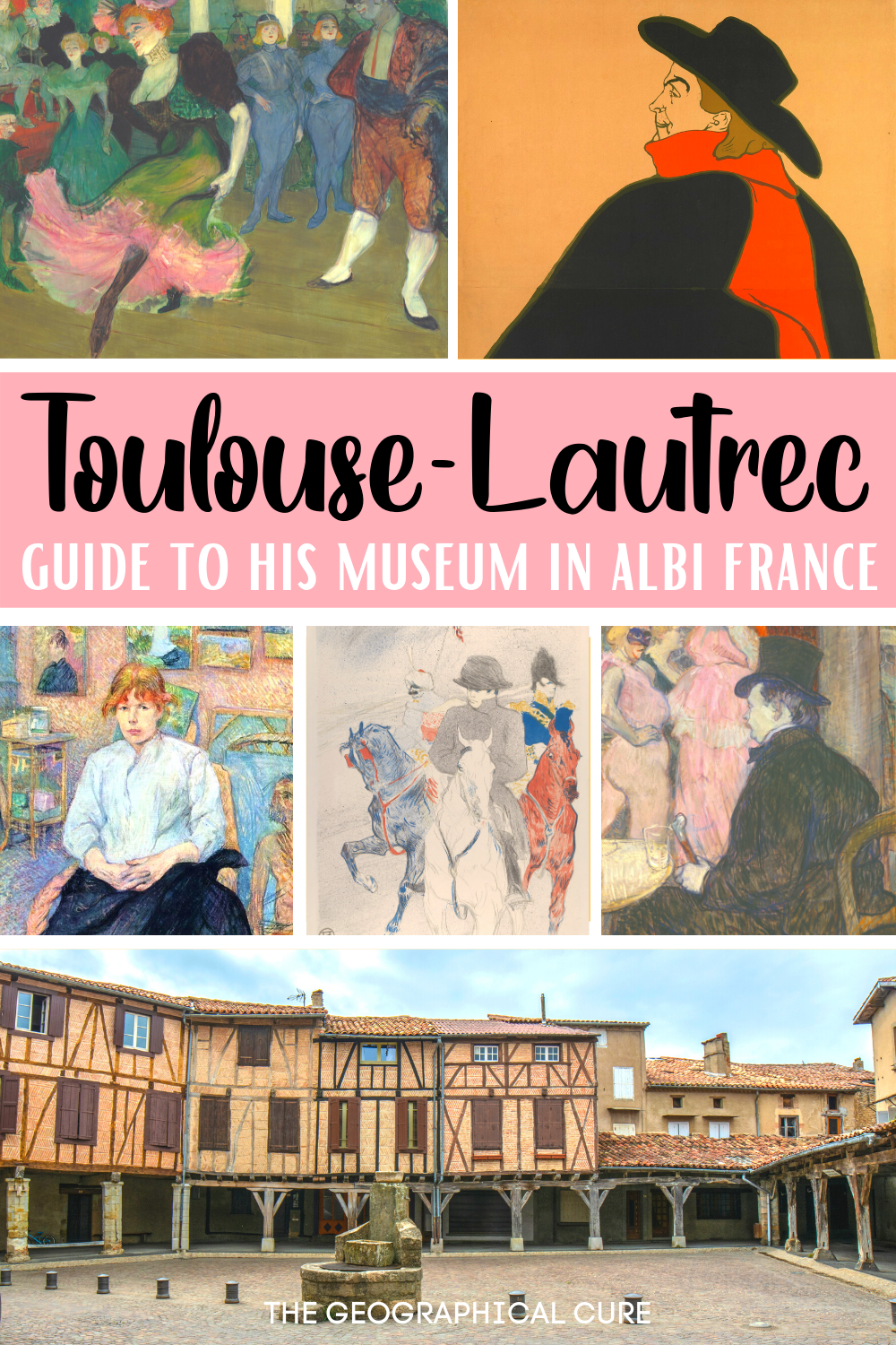 guide to the Toulouse-Lautrec Museum in Albi France