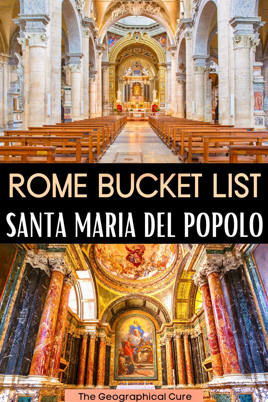 ultimate guide to Santa Maria del Popolo