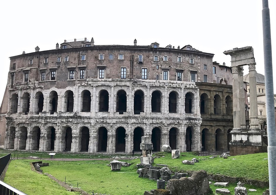 ruins of Marcellus Theater
