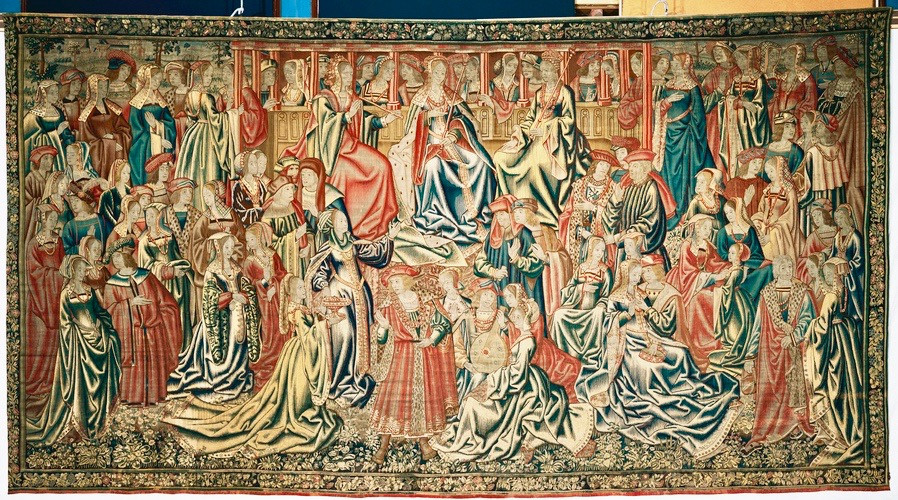 Flemish tapestry from the early 1600s in the Great Watching Chamber