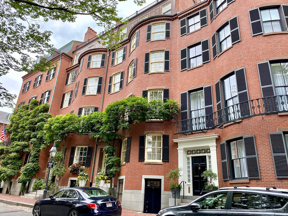 Federal style houses on Beacon Hill