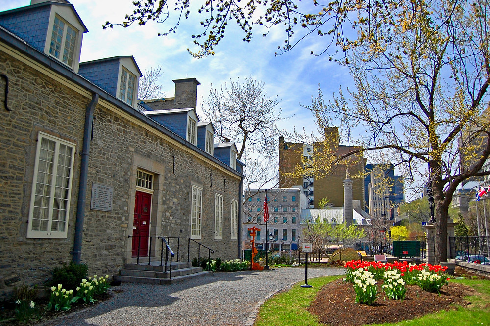 Chateau Ramezay, a historic building in Vieux Montreal