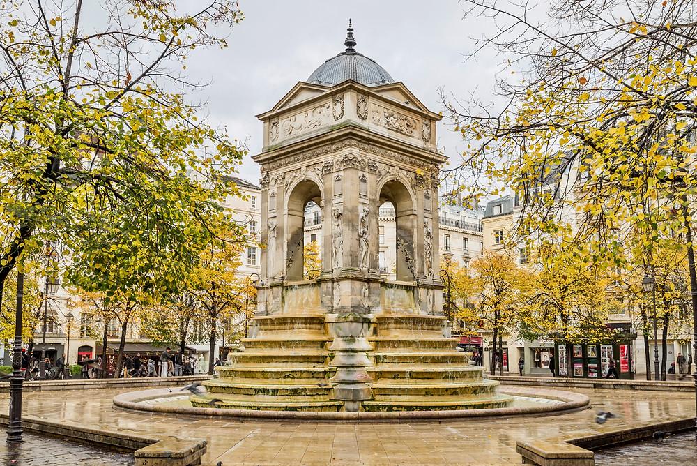 Fountain Des Innocents near Les Halles