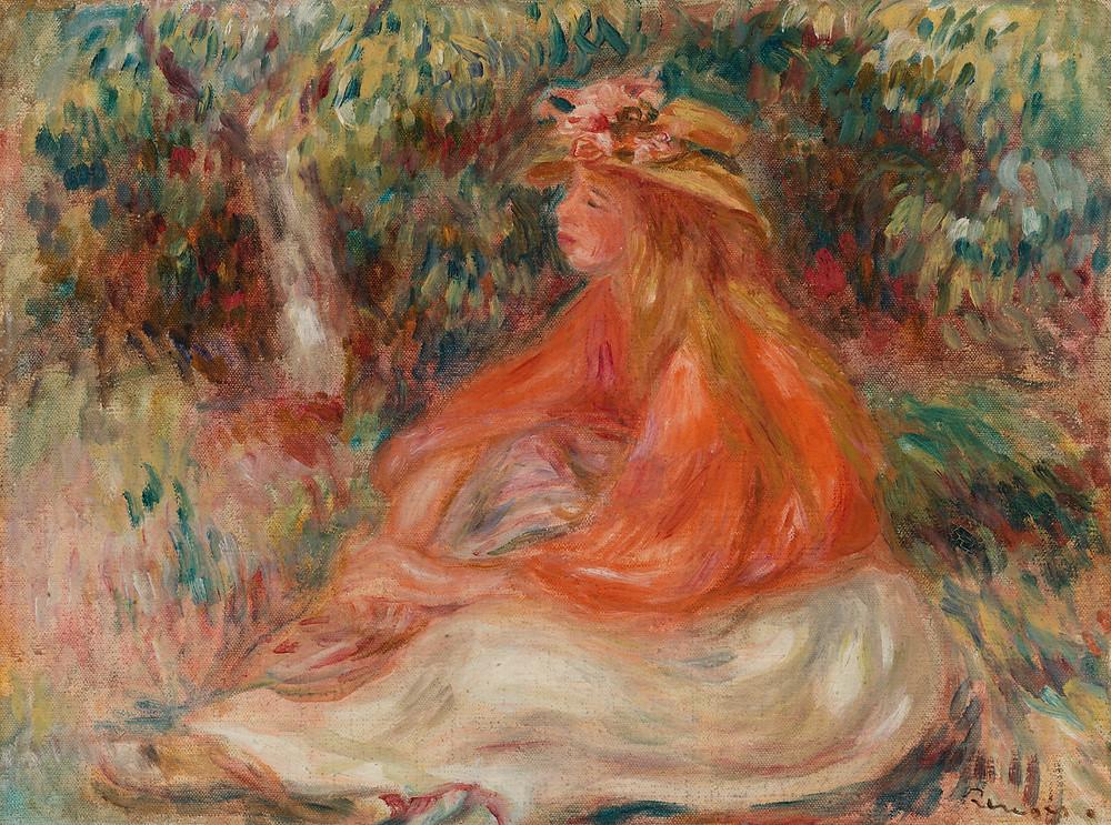 Renoir, Seated Woman, 1910