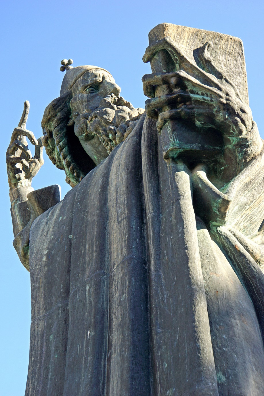 the statue of Gregory of Nin in Split