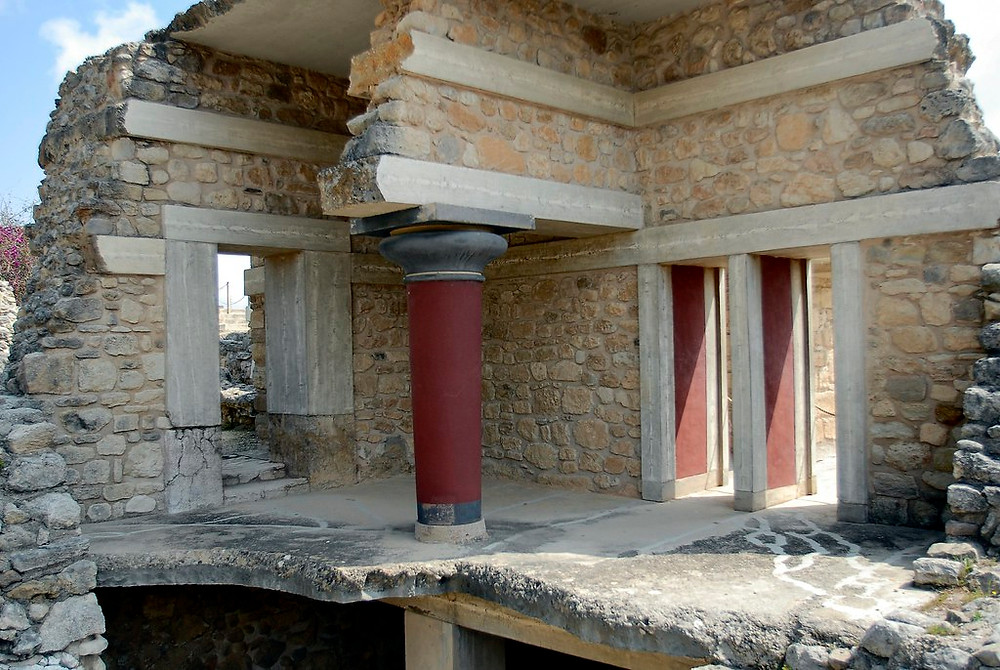 the Piano Nobile upper floors at Knossos