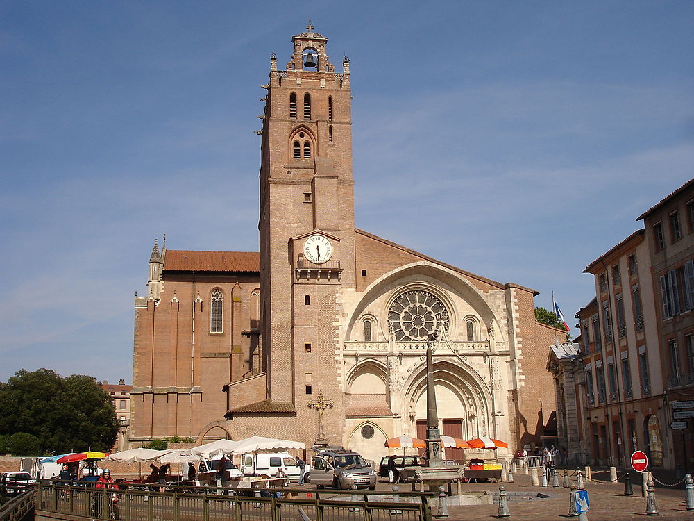 Cathedral Saint-Etienne in Toulouse France