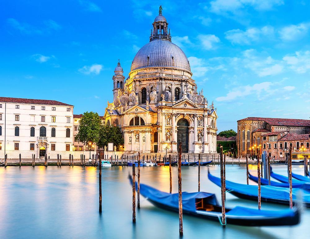 Basilica of Santa Maria della Salute, a must see site in Venice