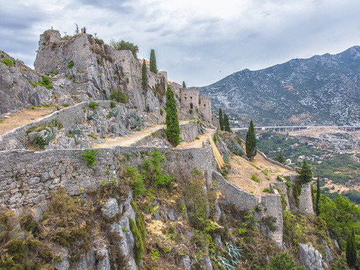 Klis Fortress: an Ancient Stronghold Outside Split Croatia