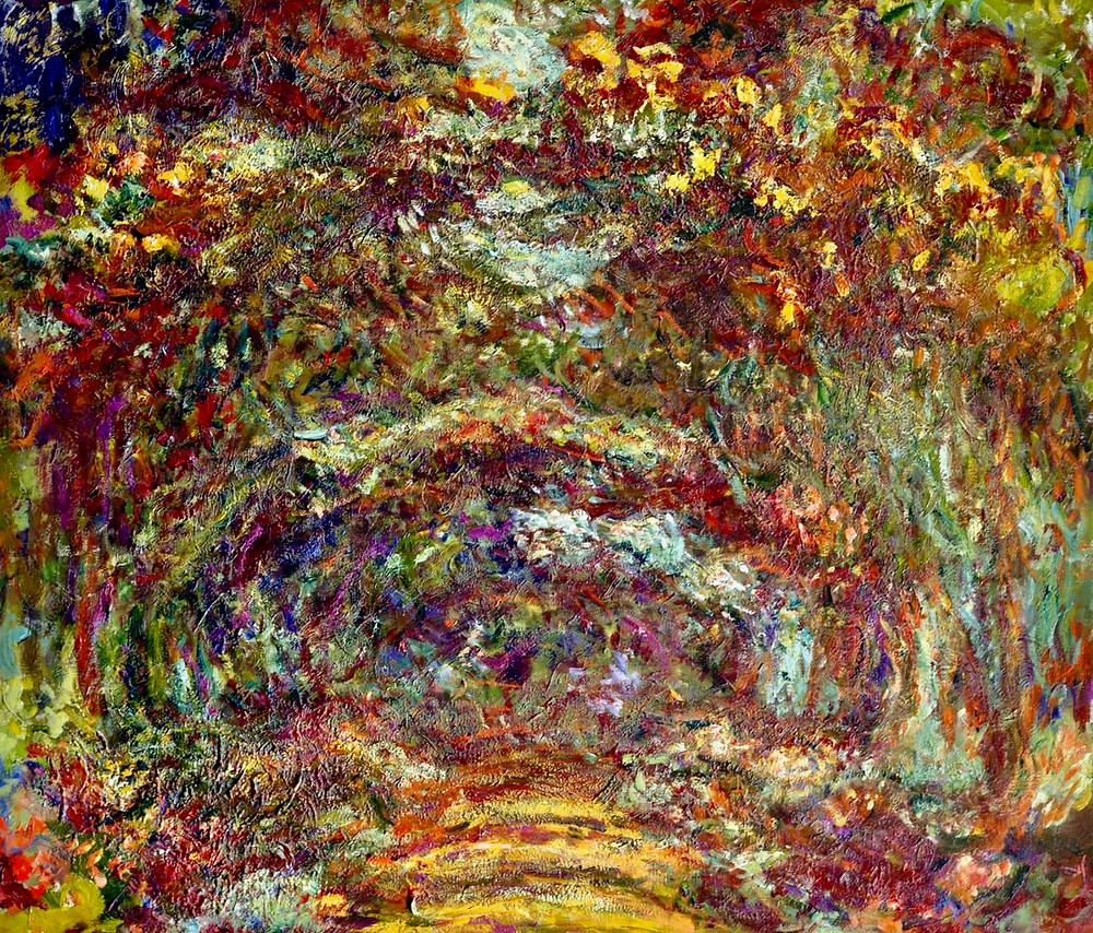Monet, Path under the Rose Arches, 1918-24