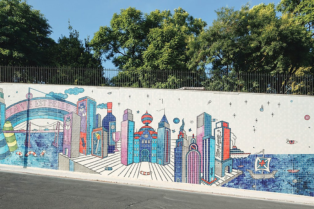 André Saraiva mural