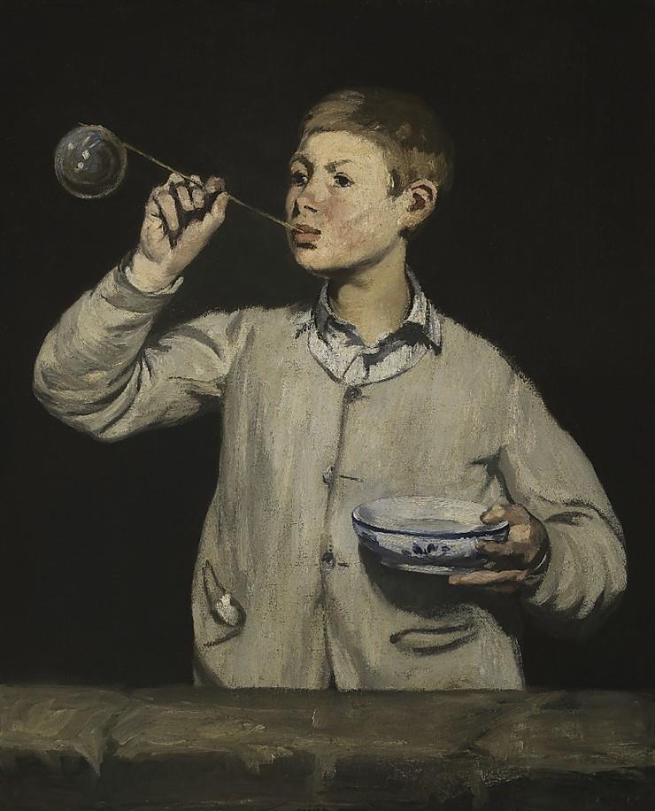 Boy Blowing Bubbles, Édouard Manet, 1867, Gulbenkian Museum