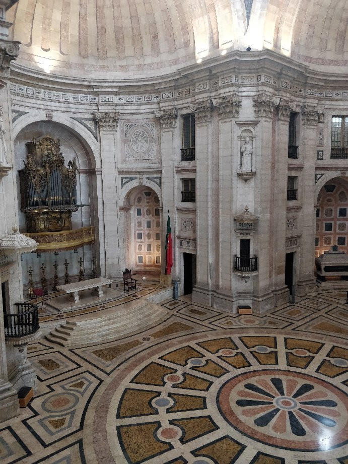 interior of the Lisbon's National Pantheon