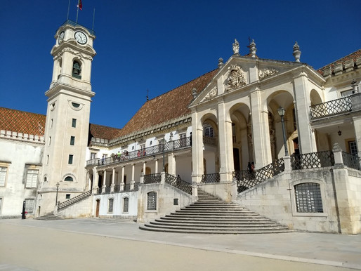 Black Capes and Bats At Coimbra University in Portugal