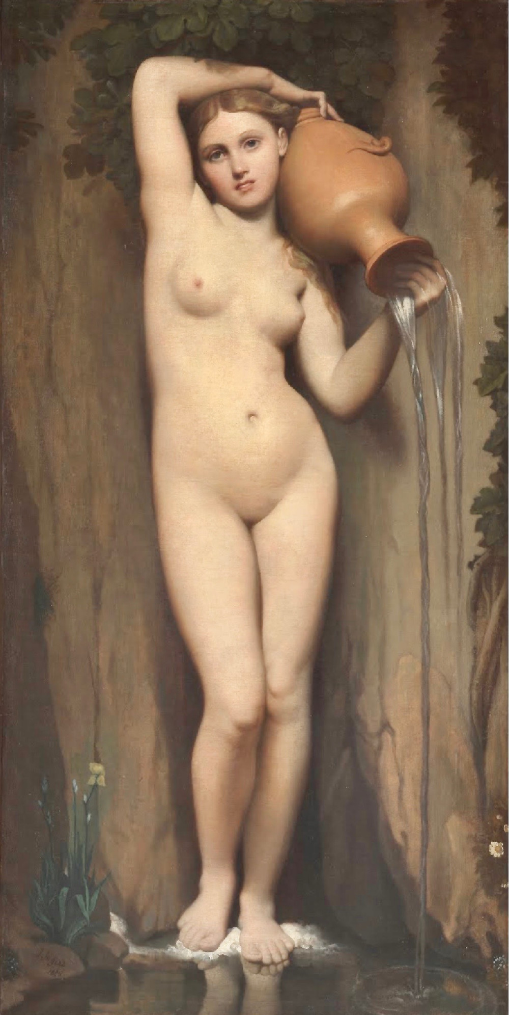 Jean-Auguste-Dominque Ingres, The Spring, 1829-56