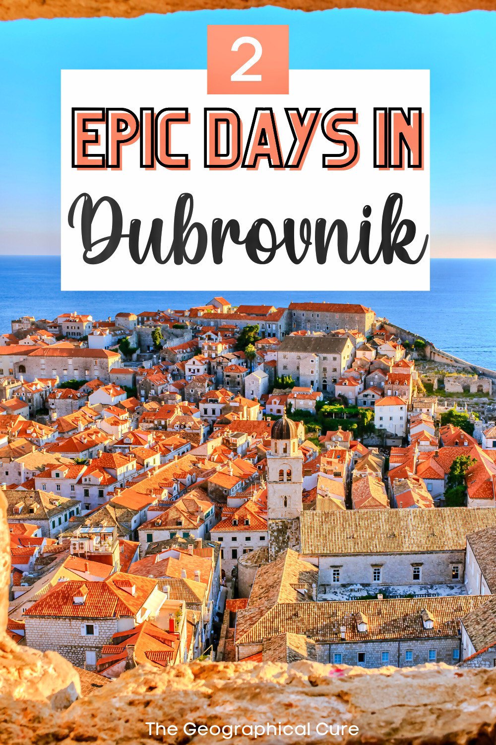 how to spend 2 perfect days in Dubrovnik Croatia