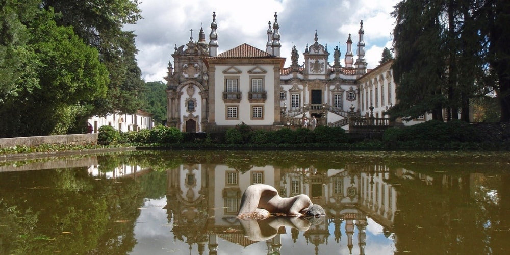 Mateus Palace in the Douro Valley