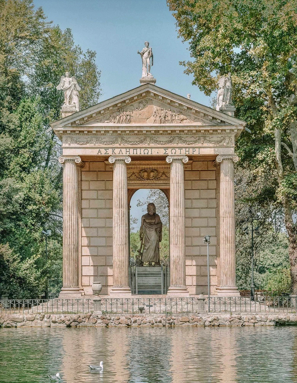 Temple of Diana in the Borghese Gardens