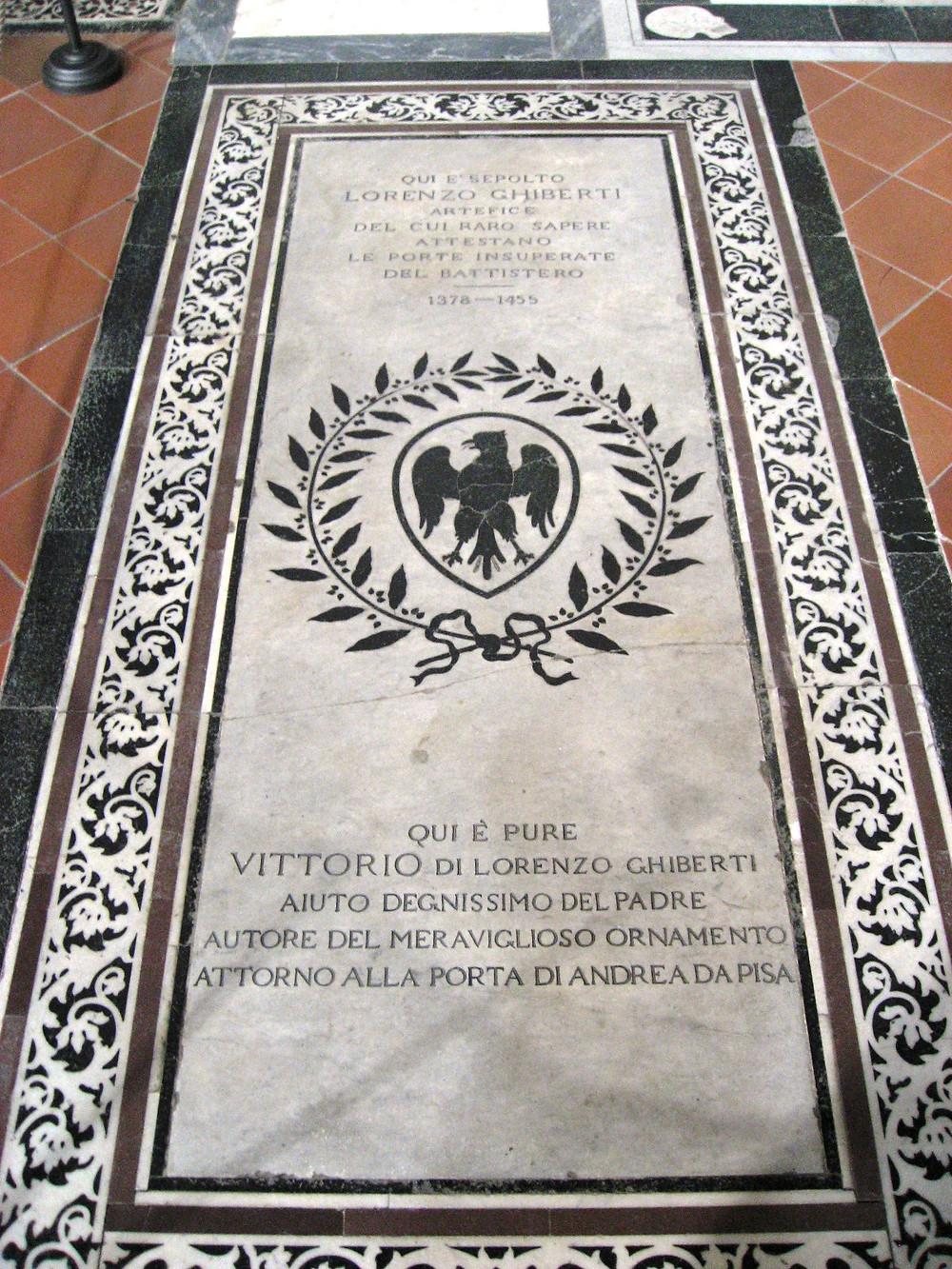 tomb of Lorenzo Ghiberti