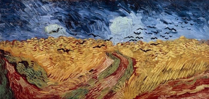 Vincent Van Gogh, Crows Over Wheatfield,